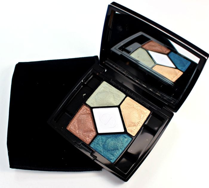 Dior Contraste Horizon 5-Couleurs Swatches, Review + EOTD // Summer 2015