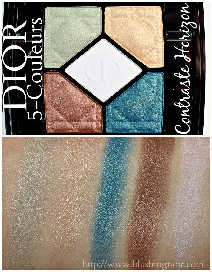 Dior Contraste Horizon 5-Couleurs Swatches