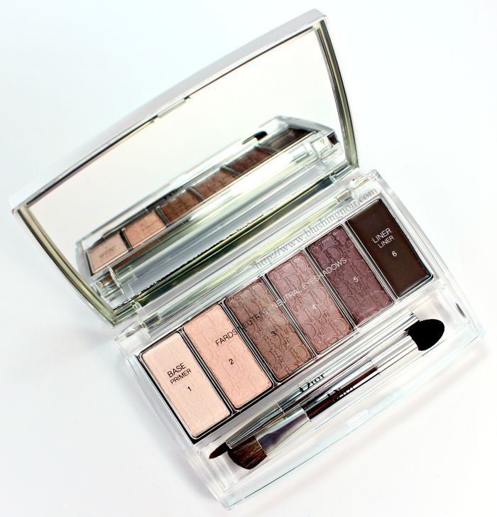 Dior Eye Reviver Eyeshadow Palette Nordy Girl Review
