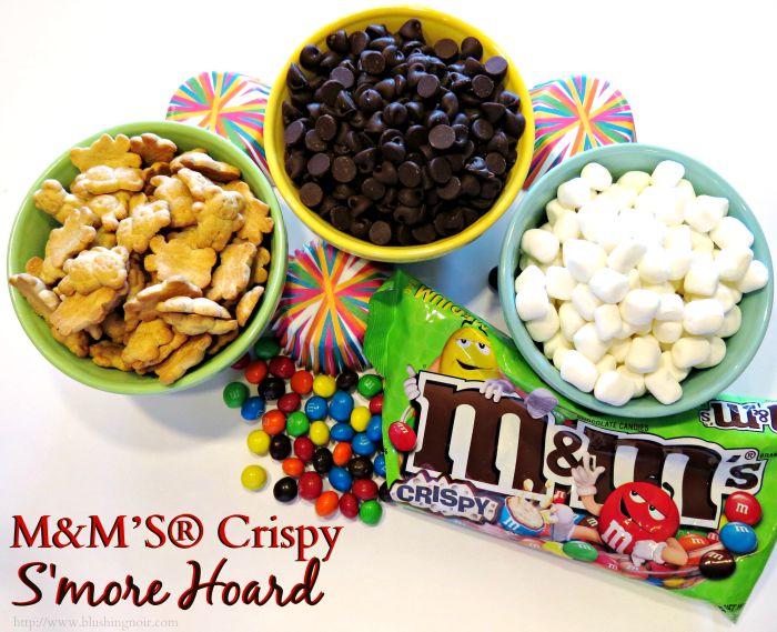 M&M'S® Crispy S'more Hoard #CrispyMMSummer Recipe