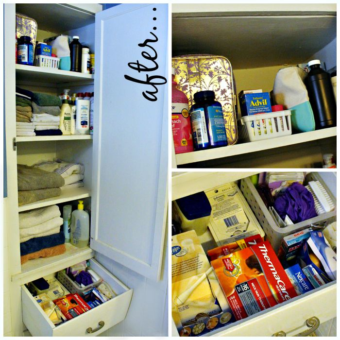 Medicine Cabinet After #HealthySavings