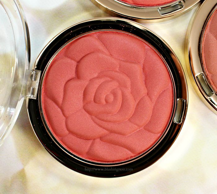 Milani 09 American Beauty Rose Blush Swatches