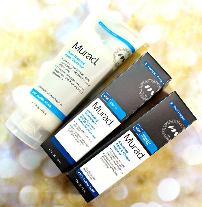 Murad Anti-Aging Acne Skincare Review