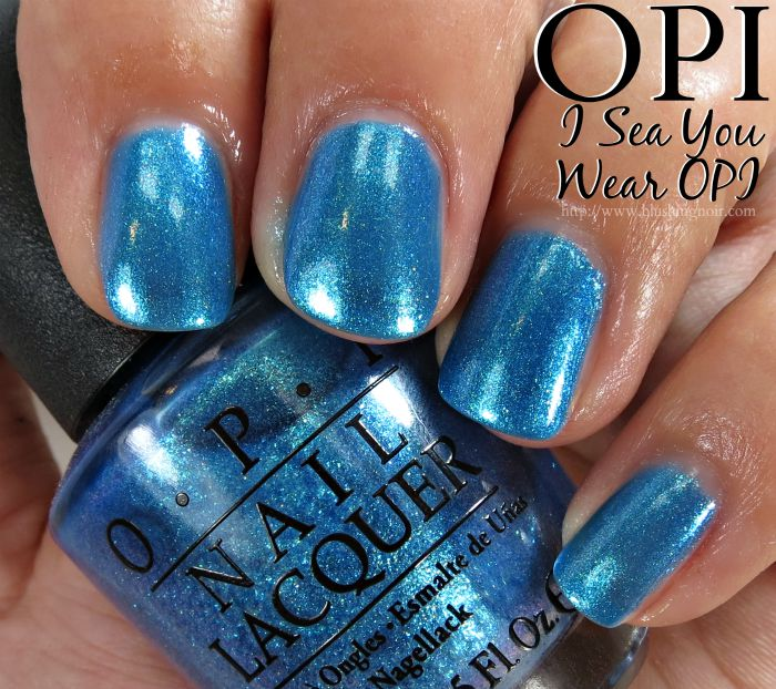 OPI I Sea You Wear OPI Nail Polish Swatches