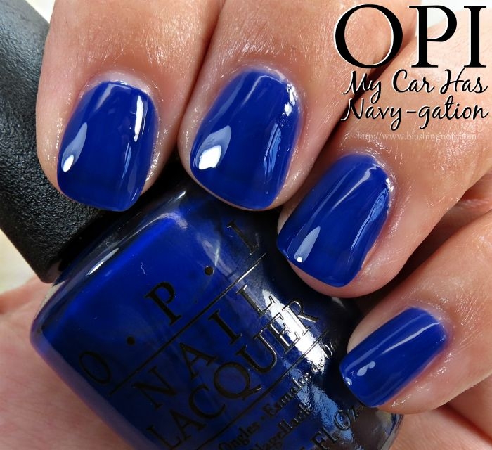 OPI My Car Has Navy-gation Nail Polish Swatches