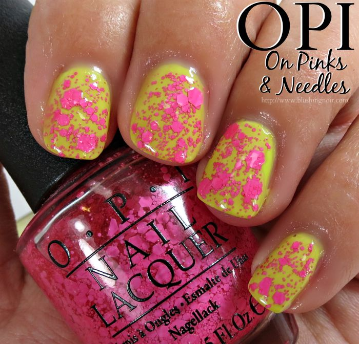 OPI On Pinks & Needles Nail Polish Swatches