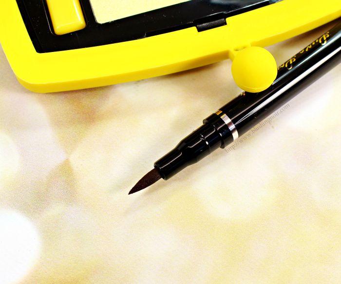 Starlooks Plum Eyeliner Pen swatches