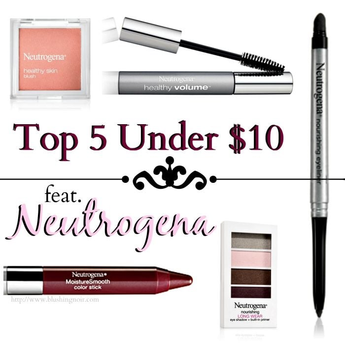 5 Under $10 Beauty feat. Neutrogena