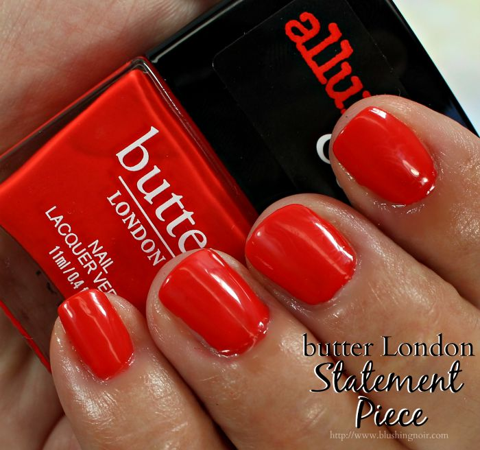 butter London Statement Piece Nail Polish Swatches