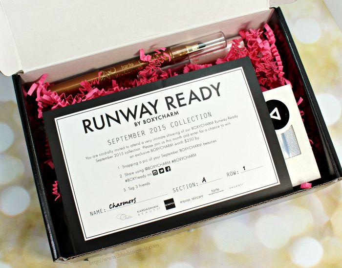 BoxyCharm September 2015 Runway Ready