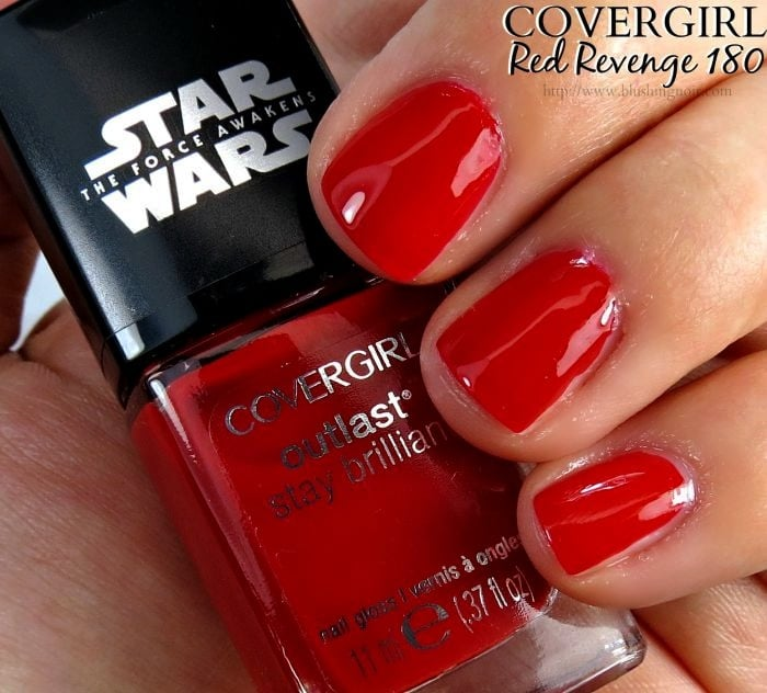Covergirl Red Revenge Nail Polish Swatches Star Wars