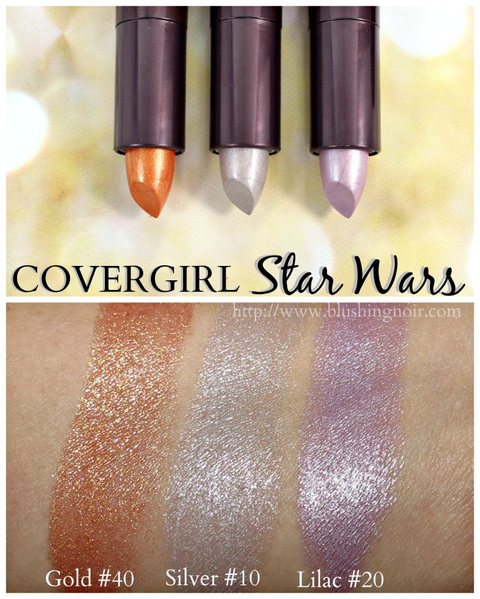 Covergirl Star Wars Lipstick Swatches