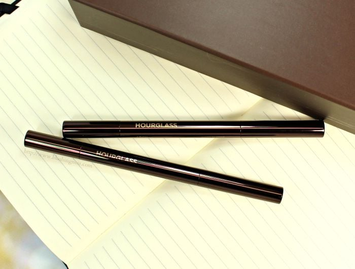 Hourglass Arch Brow Pencil review swatches