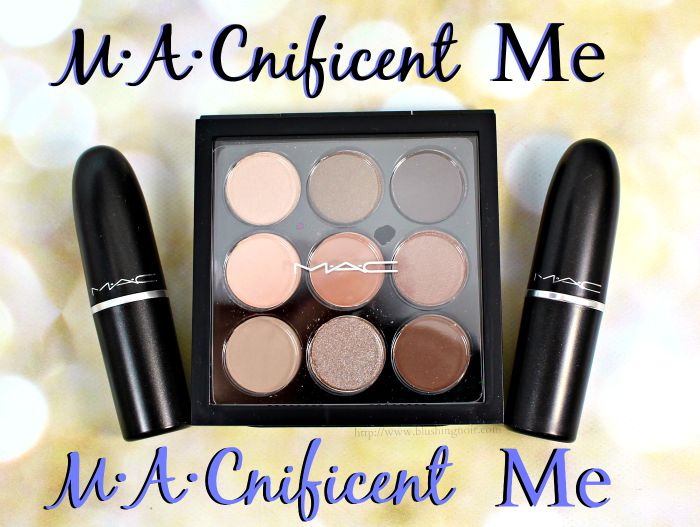 MAC M∙A∙Cnificent Me Swatches, Review + FOTD