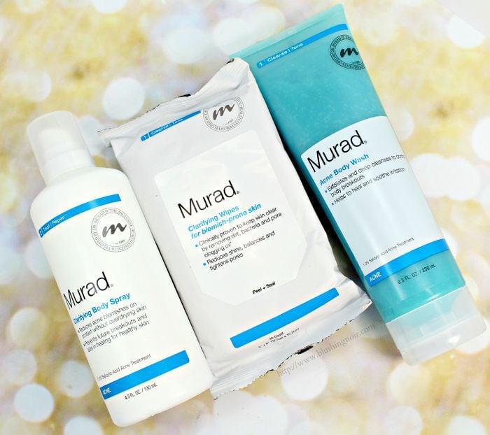 Murad Clarifying Body Skincare Review