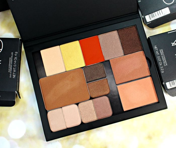 NARS Pro Palette Swatches Review