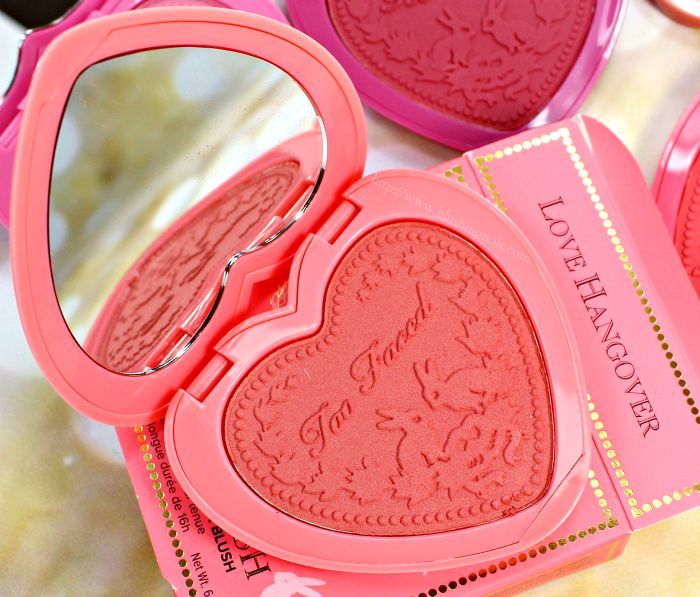 Too Faced Love Hangover Blush Swatches