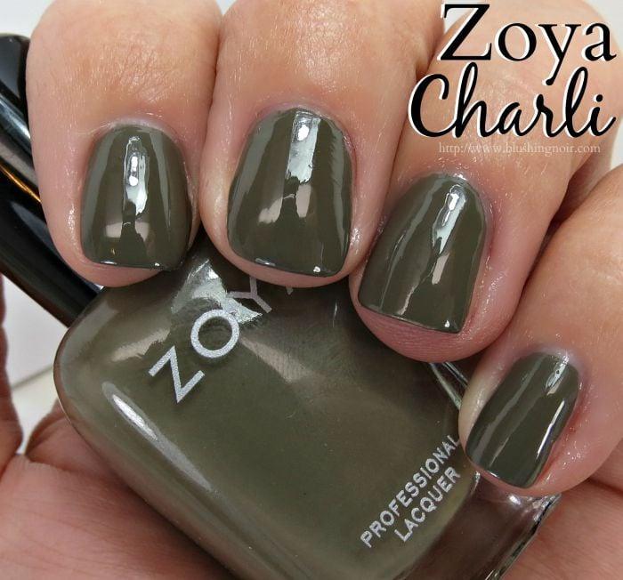 Zoya Charli Nail Polish Swatches