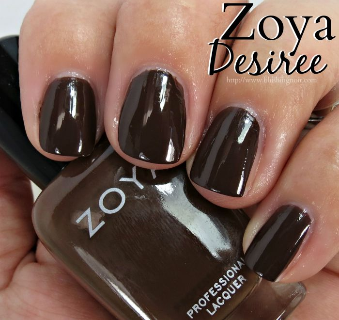 Zoya Desiree Nail Polish Swatches
