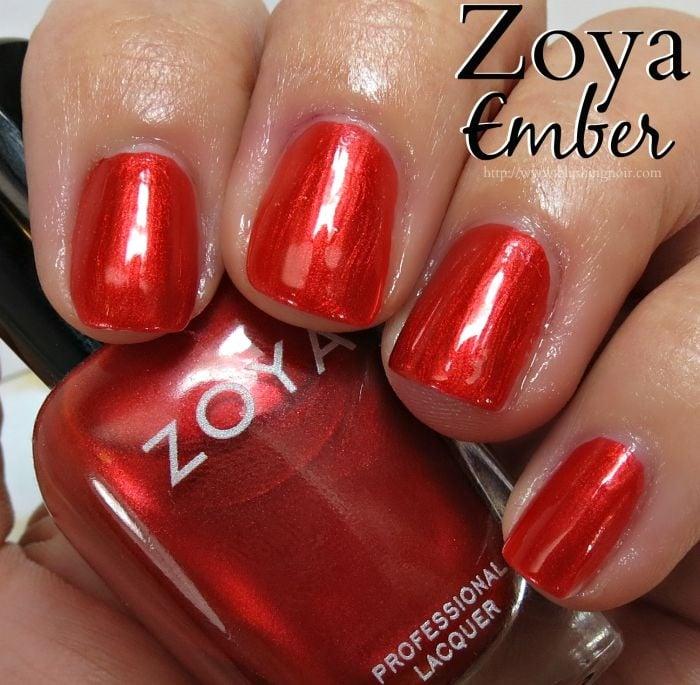 Zoya Ember Nail Polish Swatches