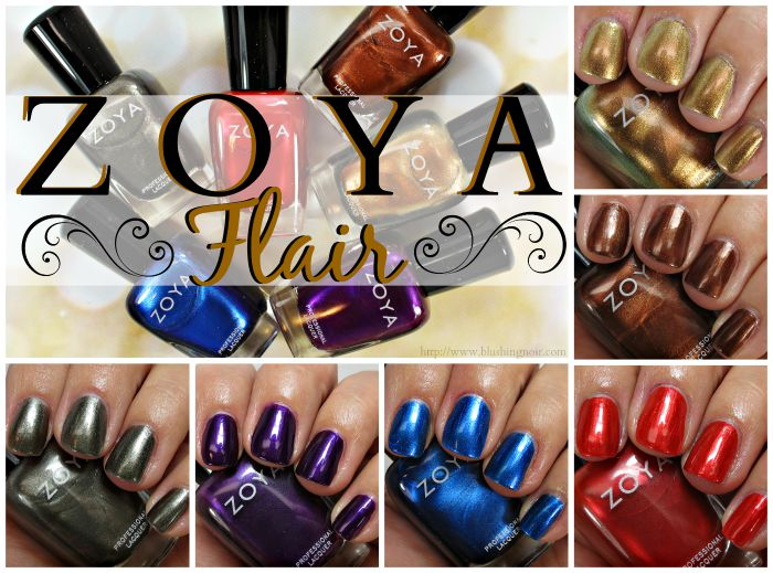 Zoya Flair Nail Polish Collection Swatches