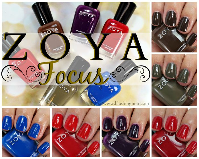 Zoya Focus Nail Polish Collection Swatches