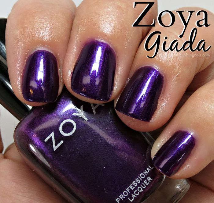 Zoya Giada Nail Polish Swatches