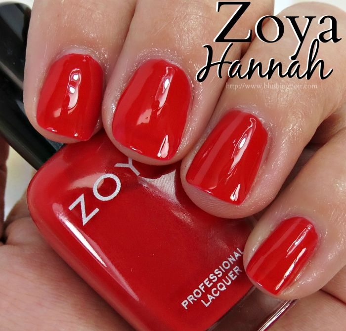 Zoya Hannah Nail Polish Swatches