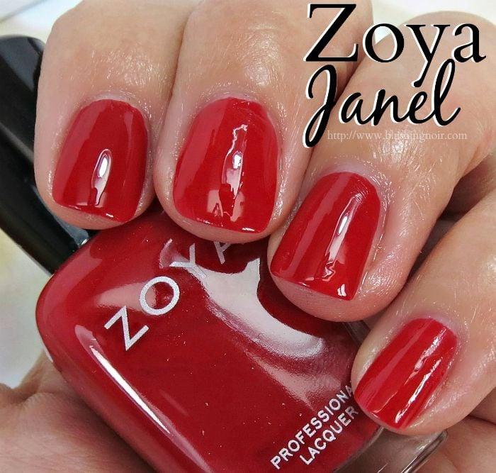 Zoya Janel Nail Polish Swatches