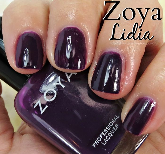Zoya Lidia Nail Polish Swatches