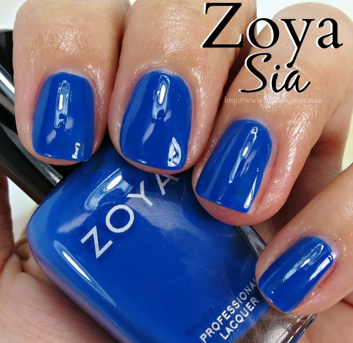 Zoya Sia Nail Polish Swatches