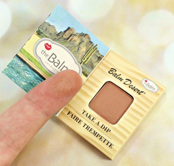 theBalm® cosmetics Balm Desert® BronzerBlush Swatches