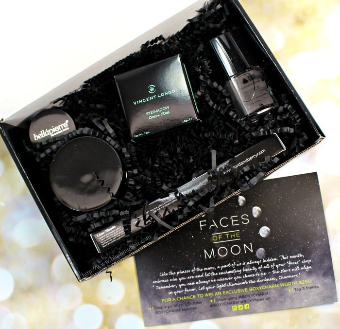 Boxycharm Faces of the Moon