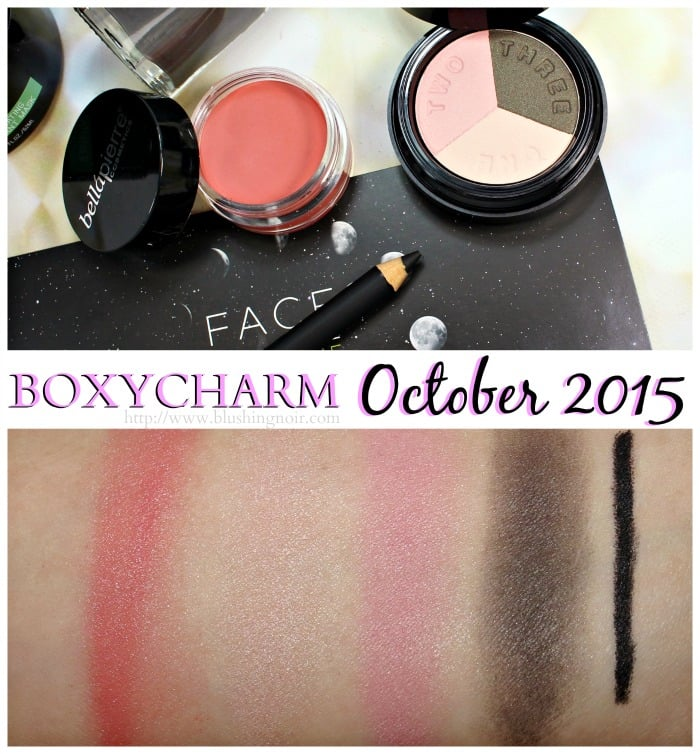Boxycharm October 2015 swatches
