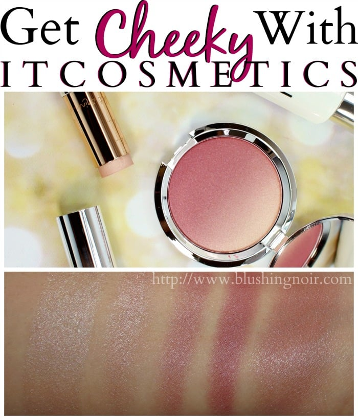 IT Cosmetics Sugar Plum Blush Ombre Swatches