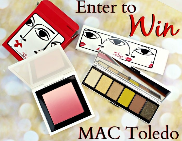 MAC Giveaway MAC Toledo Collection