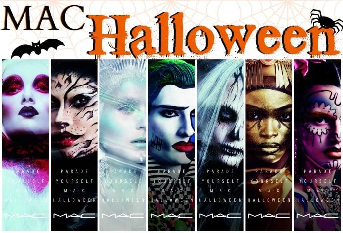 MAC Halloween Face Charts 2015