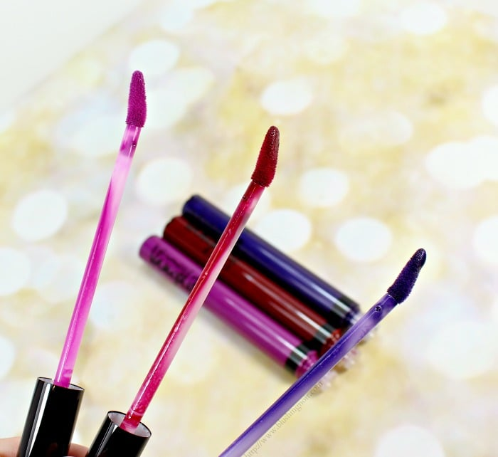 MAC Vamplify Lip Gloss Swatches