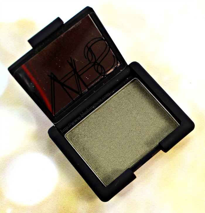 NARS Never Too Late Eyeshadow Swatches