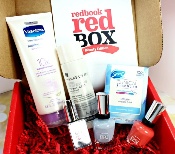 REDBOOK Red Box for Fall // Beauty Edition
