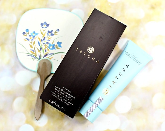 TATCHA Silken Pore Perfecting Sunscreen Photos + Review // Makeup Wars