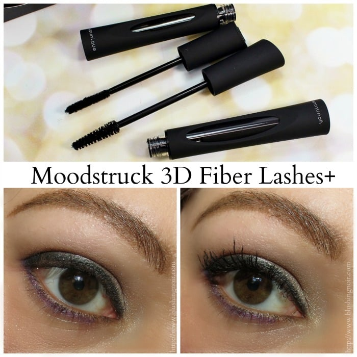 Younique Moodstruck 3D Fiber Lashes+ swatches