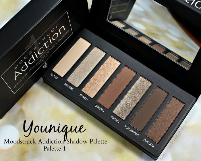 Younique Moodstruck Addiction Shadow Palette 1