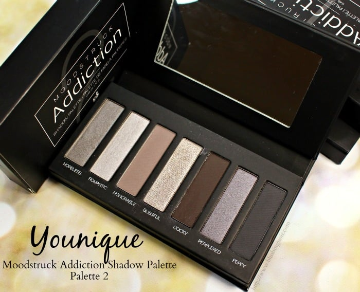 Younique Moodstruck Addiction Shadow Palette 2