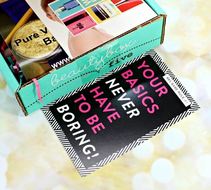 Beauty Box 5 November 2015