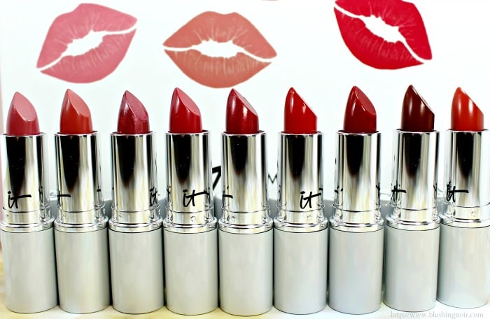 IT Cosmetics Blurred Lines Lipstick swatches review