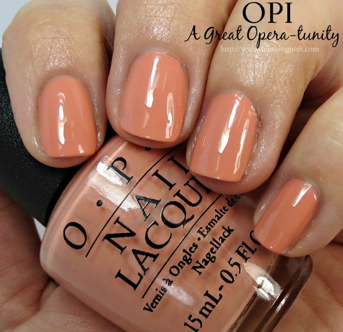 OPI A Great Opera-tunity Nail Polish Swatches
