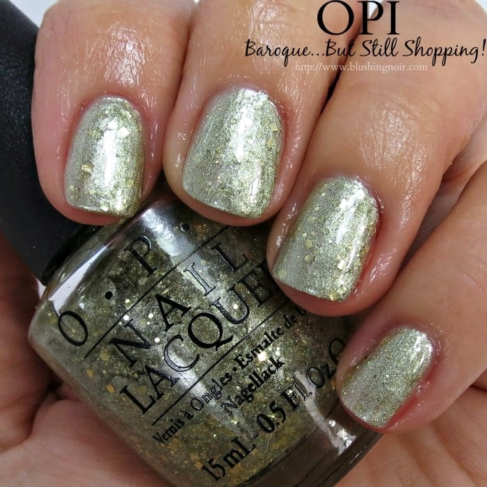 OPI Baroque But Still Shopping Nail Polish Swatches