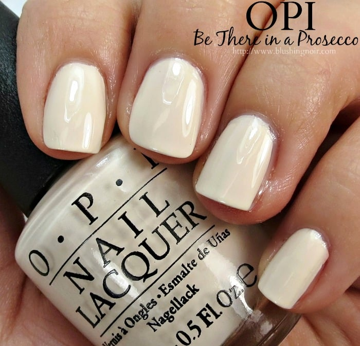 OPI Be There in a Prosecco Nail Polish Swatches