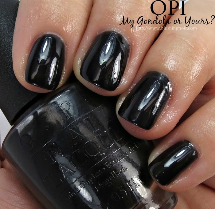 OPI My Gondola or Yours Nail Polish swatches